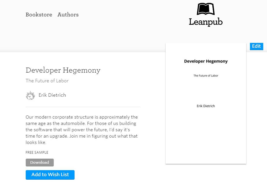 DeveloperHegemony