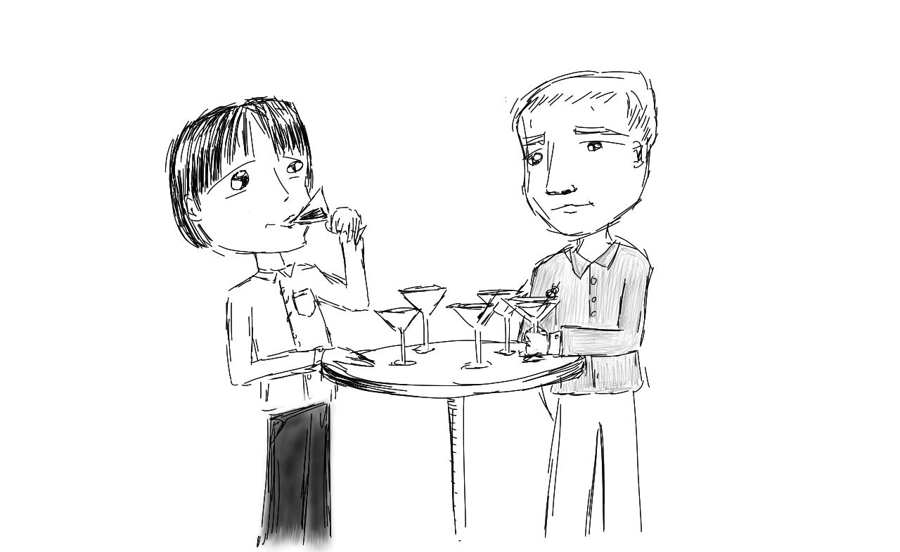 Three Martini Lunchers